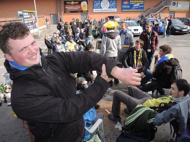 Zlínští hokejoví fanoušci doufají, že Berani v pátek získají extraligový titul.