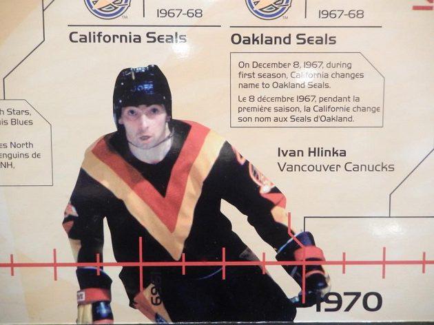 Ivan Hlinka v dresu Vancouveru