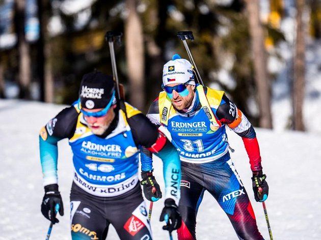 Životní výsledek v podobě dvanáctého místa zajel český biatlonista Tomáš Krupčík (číslo 31) ve zkráceném vytrvalostním závodě v kanadském Canmore.
