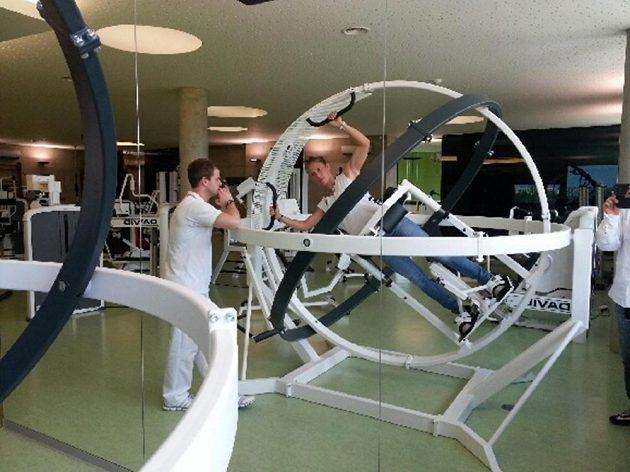 Eva Samková přes léto prochází nejrůznějšími testy. Takto rotovala v chodovském Centru pohybové medicíny.