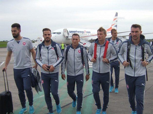 Členové záchranné mise Belfast - zleva Tomáš Koubek, Filip Novák, Jan Bořil, Ladislav Krejčí, Tomáš Souček a Jaromír Zmrhal.