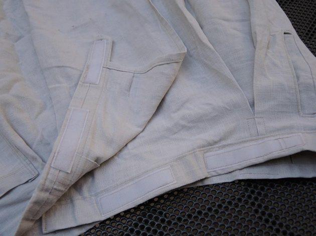 Běžecká suknice Zahálka BS 1.0: Detail zapínání u pasu.