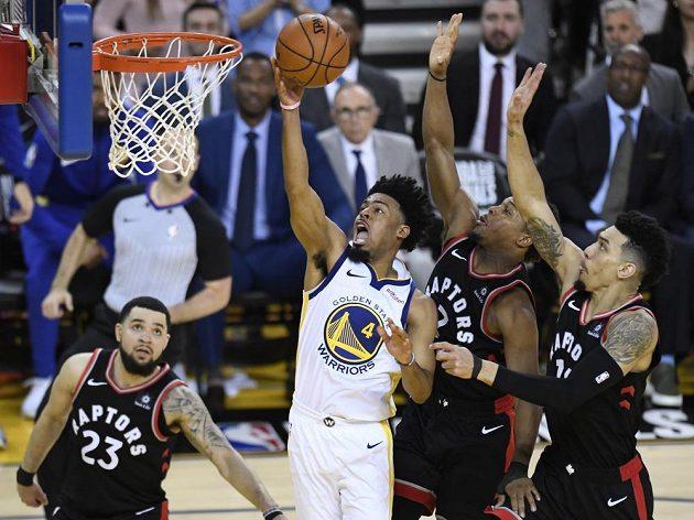 Basketbalisté Toronta zvítězili na hřišti Golden State 123:109