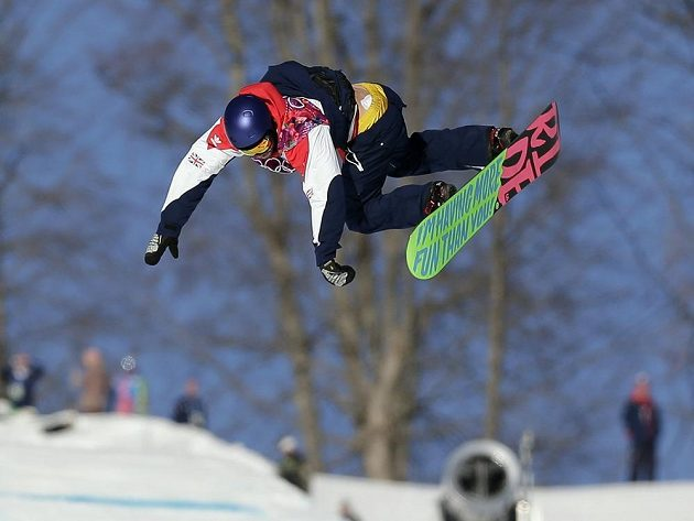 Britský snowboardista Billy Morgan vyhrál semifinále slopestylu.
