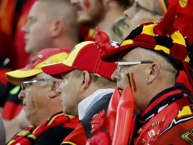 Zaražení fanoušci Belgie.