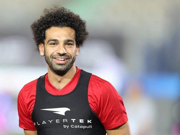 Hvězdný fotbalista Mohamed Salah věří, že po zranění ramena zasáhne už do prvního utkání Egypta na mistrovství světa v pátek proti Uruguayi.