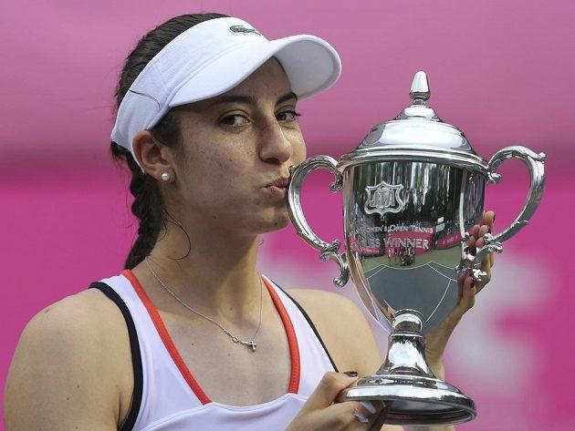 Vítězka turnaje v Tokiu Christina McHaleová.