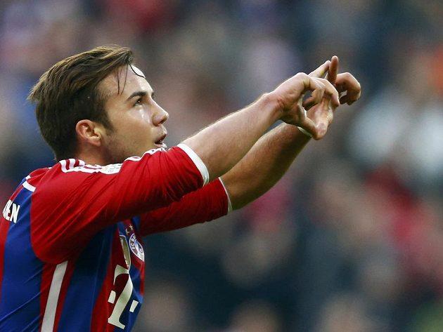 Mario Götze jásá, gólem pomohl k výhře Bayernu nad Hoffenheimem.