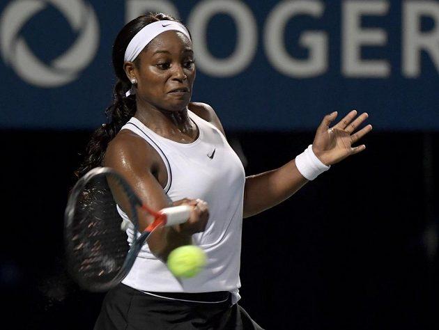 Americká tenistka Sloane Stephensová prohrála v Torontu s Češkou Marií Bouzkovou.