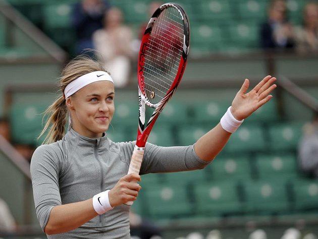 Slovenská tenistka Anna Schmiedlová v Paříži vyřadila Venus Williamsovou.