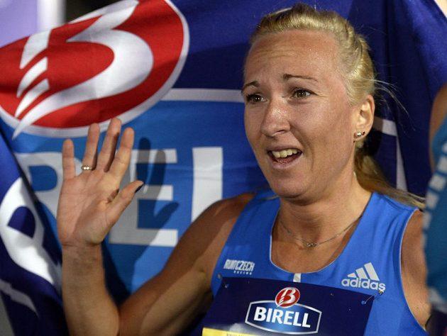 Nejlepší česká závodnice Eva Vrabcová Nývltová skončila na sedmém místě.