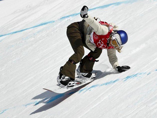 Rakušanka Anna Gasserová vyhrála olympijskou soutěž v Big Airu.