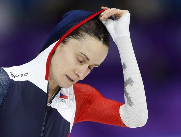 Smutek, Martina Sáblíková dojela na olympijské trojce v Jižní Koreji čtvrtá.