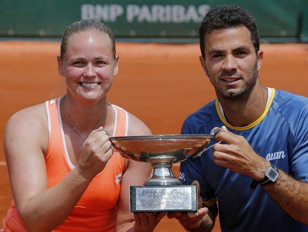 Anna-Lena Grönefeldová a Jean-Julien Rojer vyhráli na French Open smíšenou čtyřhru.