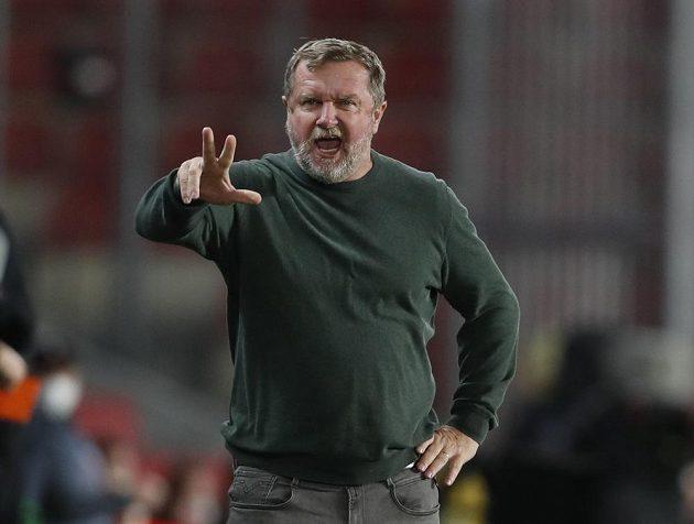 Sparťanský trenér Pavel Vrba