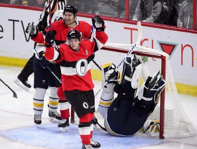 Mark Stone měl hlavní podíl na vítězství Ottawy