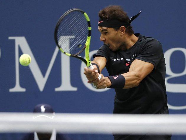 Velmi soustředěně hrál ve finále Rafael Nadal.