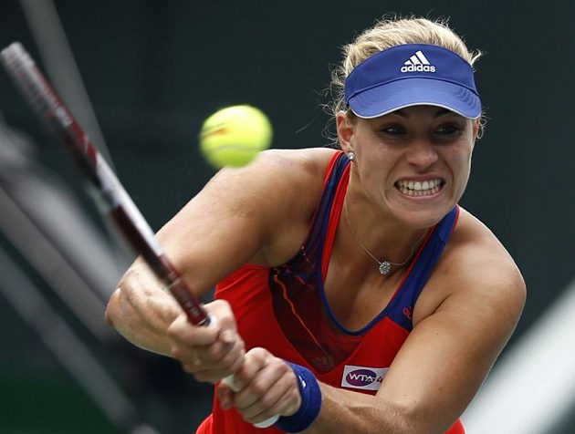 Němka Angelique Kerberová na Petru Kvitovou ve finále nakonec neměla.
