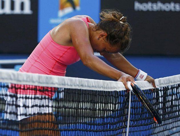 Barbora Záhlavová-Strýcová na Australian Open.