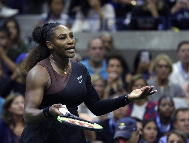 Serena Williamsová bude za urážky rozhodčího platit