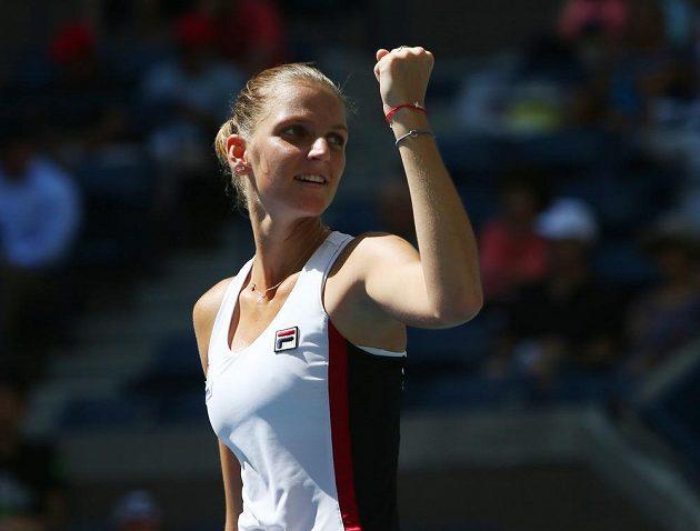 Karolína Plíšková je poprvé v kariéře v semifinále grandslamu!