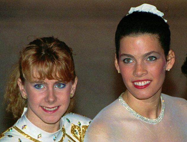 Tonya Hardingová (vlevo) a Nancy Karriganová.