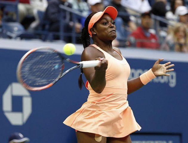 Sloane Stephensová ve finále US Open.