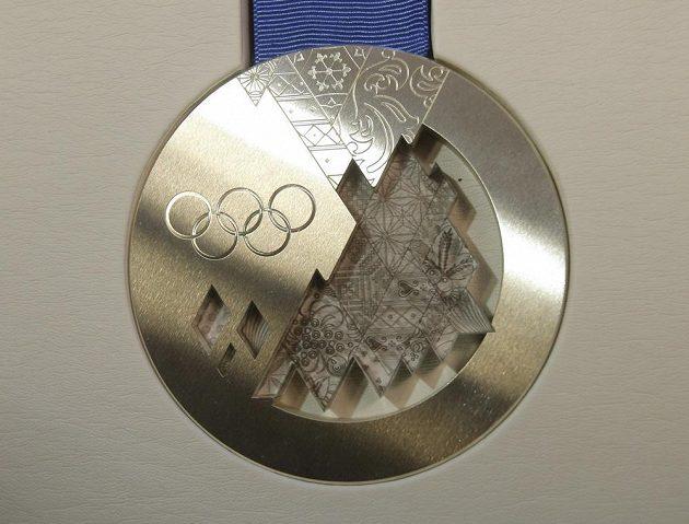 Stříbrná medaile pro olympiádu v Soči