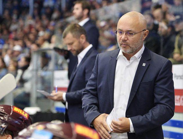 Hlavní trenér Sparty Jiří Kalous. Z Plzně neodjížděl s dobrou náladou.