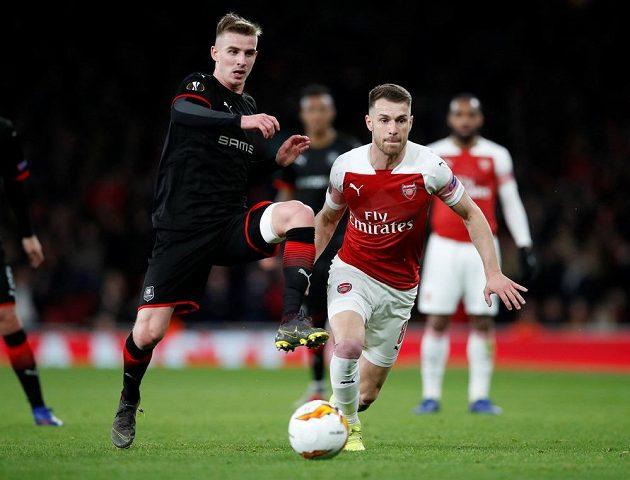 Arsenal bojoval o postup do čtvrtfinále Evropské ligy s Rennes