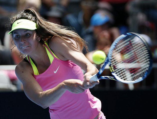 Mladá francouzská tenistka Oceane Dodinová kladla Karolíně Plíškové ostrý odpor.