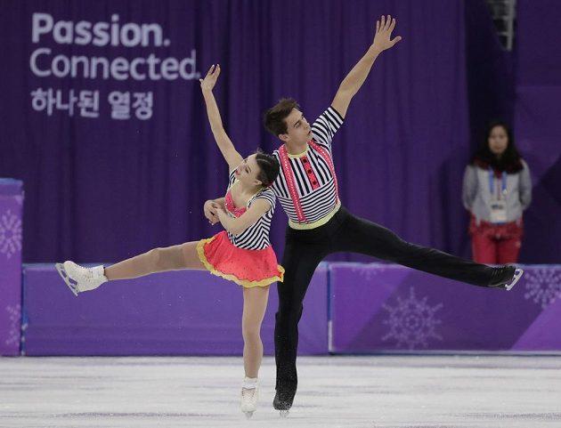 Skvělou práci odvedla na olympidáě v Pchjongčchangu česká sportovní dvojice Anna Dušková, Martin Bidař. Povedla se jim i čtvrteční volná jízda.