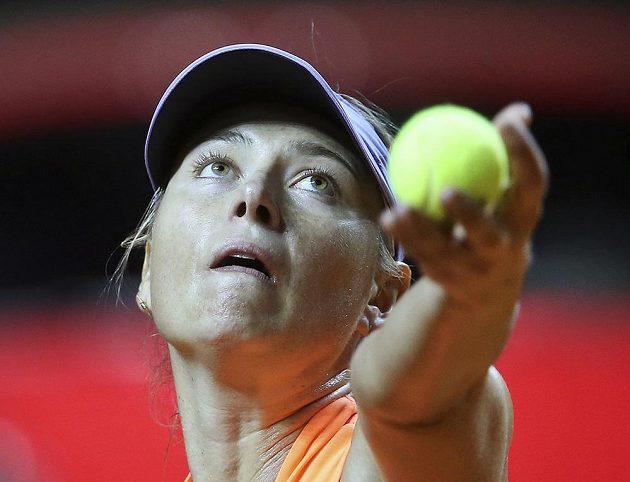 Ruská tenistka Maria Šarapovová se vrátila po patnácti měsících do hry po odpykání trestu za doping. Ve Stuttgartu nastoupila proti Italce Vinciové.
