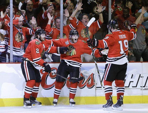 Druhá gólová radost pro Chicago.