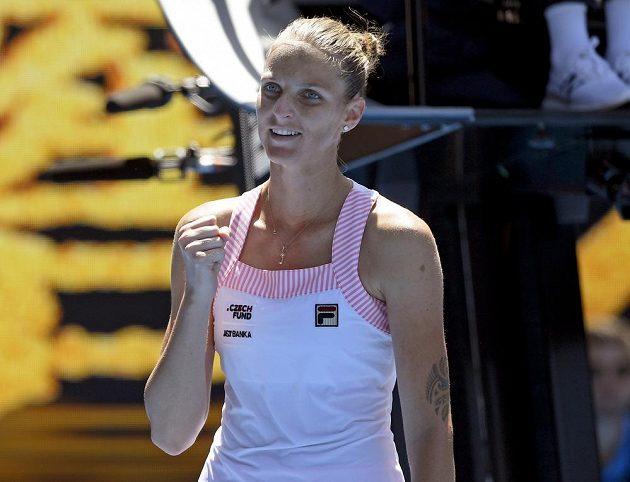 Vítězství! Karolína Plíšková je v semifinále Australian Open.