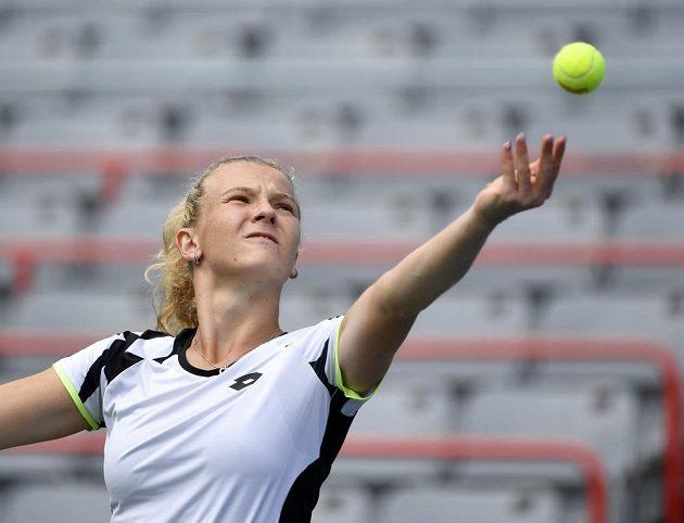 Česká tenistka Kateřina Siniaková se týden po zisku zlaté olympijské medaile ve čtyřhře vrátila na okruh WTA vítězstvím.