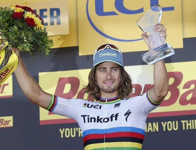 Peter Sagan slaví druhý triumf na letošním ročníku Tour de France.