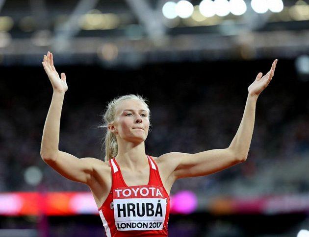Česká výškařka Michaela Hrubá.
