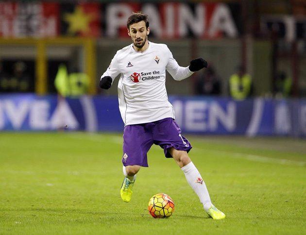 Během utkání s AC Milán.