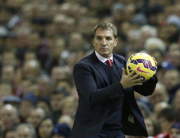 Kouč Liverpoolu Brendan Rodgers.
