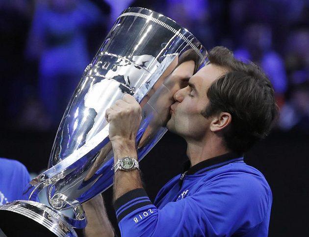 Roger Federer měl na zisku Laver Cupu velkou zásluhu