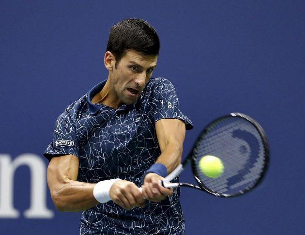 Novak Djokovič byl v utkání favoritem