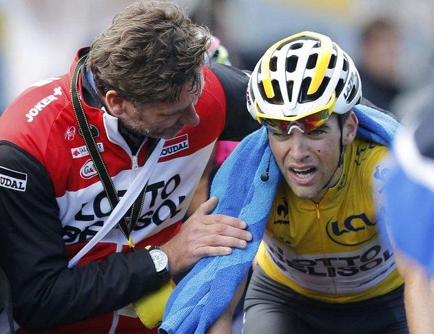 Francouz Tony Gallopin si v tomto ročníku Tour zkusil i žlutý trikot
