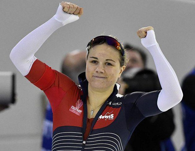 Radost Karolíny Erbanové, novopečené mistryně Evropy ve sprinterských vícebojích.