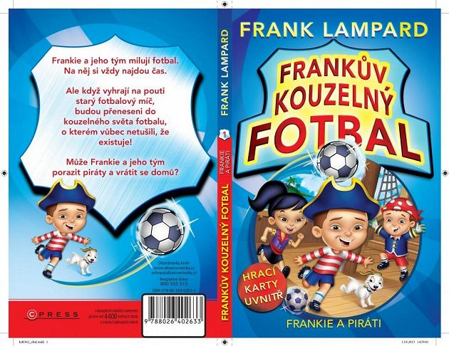 Obal knihy Frankův kouzelný fotbal od Franka Lamparda