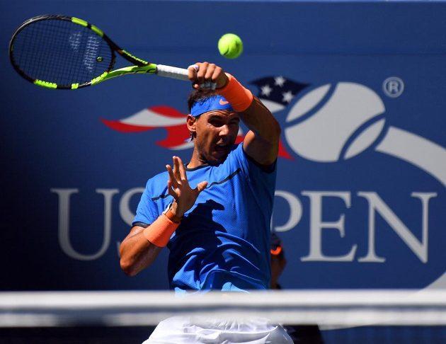 Španěl Rafael Nadal v prvním kole US Open.