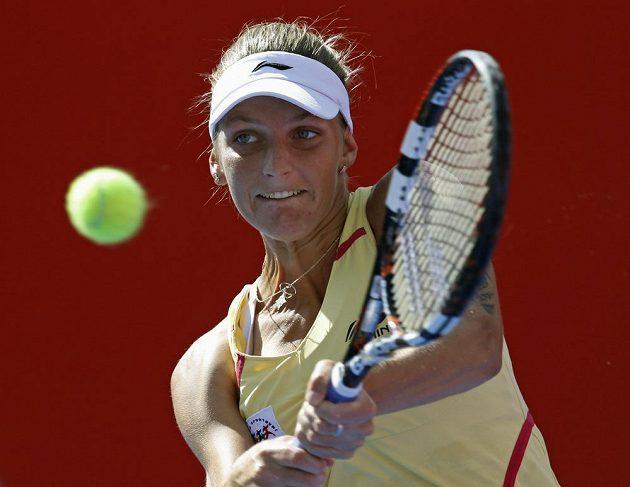 Karolína Plíšková prohrála i své letošní třetí finále dvouhry.