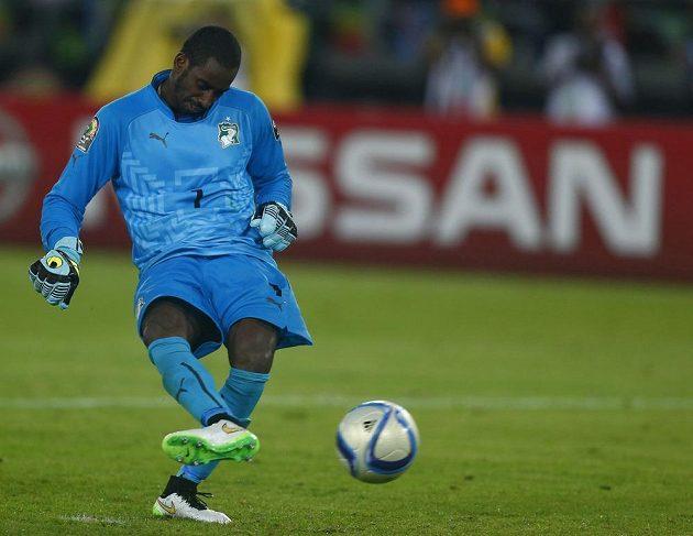 Brankář Boubacar Barry dal v rozstřelu finále afrického mistrovství gól, kterým zajistil pro Pobřeží slonoviny titul.
