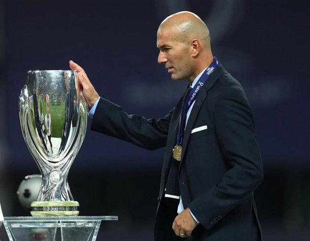 Trenér Zinédine Zidane dovedl fotbalisty Realu Madrid k dalšímu úspěchu.