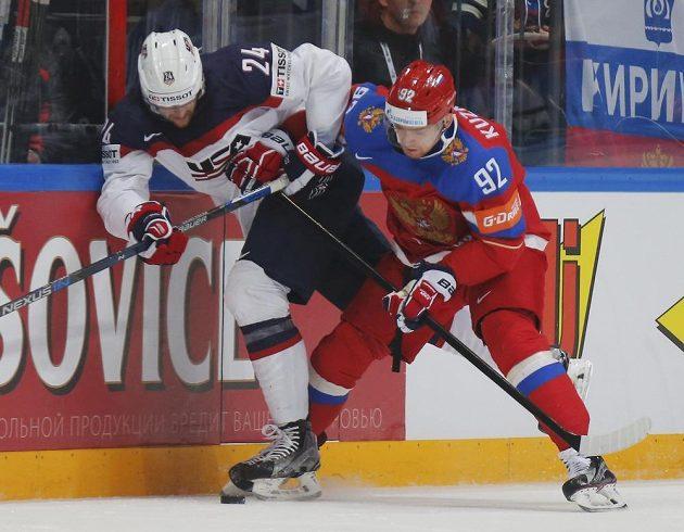 Zleva Američan Hudson Fasching a Rus Jevgenij Kuzněcov.